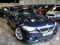 USED 2015 15 BMW 5 SERIES 2.0 520D M SPORT 4d AUTO 188 BHP EURO 6 ANY PART EXCHANGE WELCOME, COUNTRY WIDE DELIVERY ARRANGED, HUGE SPEC