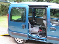 2007 RENAULT KANGOO 1.2 GOWRINGS WAV WHEELCHAIR/MOBILITY SCOOTER  £SOLD