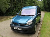 USED 2007 RENAULT KANGOO 1.2 GOWRINGS WAV WHEELCHAIR/MOBILITY SCOOTER  GOWRINGS WAV RAMP CONVERSION. SCOOTER/WHEELCHAIR...DELIVERY POSSIBLE