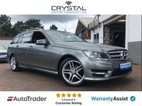 2012 MERCEDES-BENZ C CLASS 2.1 C250 CDI BLUEEFFICIENCY AMG SPORT 5d AUTO 202 BHP £8995.00