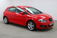 """USED 2011 61 SEAT LEON 1.2 S EMOCION TSI 5d 103 BHP Finished in stunning Red Metallic with Black Cloth Upholstery, 16"""" Alloy Wheels and Full service History. Stop/start, Air Con, Climate Control, Multi Function wheel, Electric Mirrors and windows"""