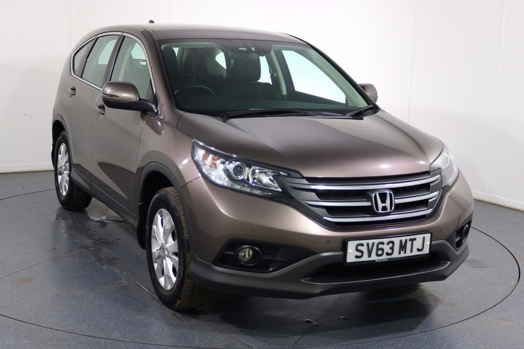 USED 2013 63 HONDA CR-V 2.2 I-DTEC SE 5d 148 BHP ONE OWNER with FULL 7 Stamp SERVICE HISTORY