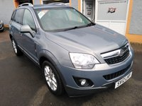 USED 2012 12 VAUXHALL ANTARA 2.2 EXCLUSIV CDTI 5d 161 BHP 1/2 Leather, Heated Seats, Front and Rear parking Sensors, Air Con