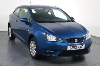 2012 SEAT IBIZA 1.4 SE 3d 85 BHP £4495.00