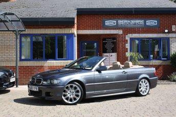 2005 BMW 3 SERIES 2.5 325CI SPORT 2d 190 BHP £6000.00