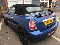 USED 2013 13 MINI ROADSTER 1.6 COOPER 2d 120 BHP
