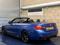 USED 2015 15 BMW 4 SERIES 3.0 435i M Sport Convertible 2dr Petrol Automatic (179 g/km, 306 bhp) +FULL SERVICE+WARRANTY+FINANCE