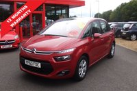 USED 2014 63 CITROEN C4 PICASSO 1.6 HDI VTR PLUS 5d 91 BHP *****12 Months Warranty*****