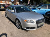 USED 2005 55 AUDI A4 2.0 TDI S LINE 4d 140 BHP GREAT SPEC + MPG DRIVES WELL, SUPPLIED WITH A NEW MOT