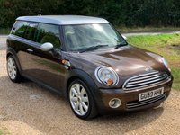 USED 2009 59 MINI CLUBMAN 1.6 COOPER 5d 118 BHP 6 S/Stamps, Low Mileage, A/C