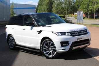 2014 LAND ROVER RANGE ROVER SPORT 3.0 SDV6 AUTOBIOGRAPHY DYNAMIC 5d AUTO 288 BHP £40995.00