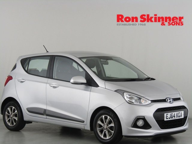View our 2014 64 HYUNDAI I10 1.2 PREMIUM 5d 86 BHP