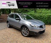 USED 2010 60 NISSAN QASHQAI+2 1.5 TEKNA PLUS 2 DCI 5d 105 BHP PAN ROOF FULL HEATED LEATHER 18 INCH ALLOYS FACTORY SAT NAV
