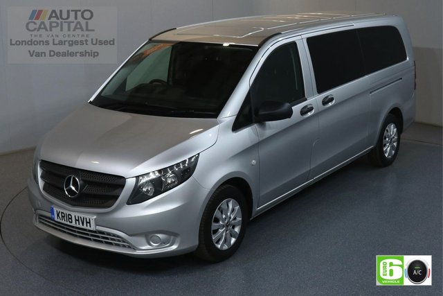 2018 18 MERCEDES-BENZ VITO 2.1 114 BLUETEC TOURER SELECT 136 BHP XLWB AUTO MINIBUS AIR CODITION, EURO 6 ENGINE