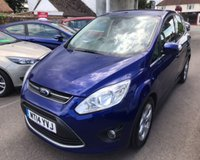 USED 2014 14 FORD C-MAX 1.6 TDCI ZETEC 115 BHP THIS VEHICLE IS AT SITE 1 - TO VIEW CALL US ON 01903 892224