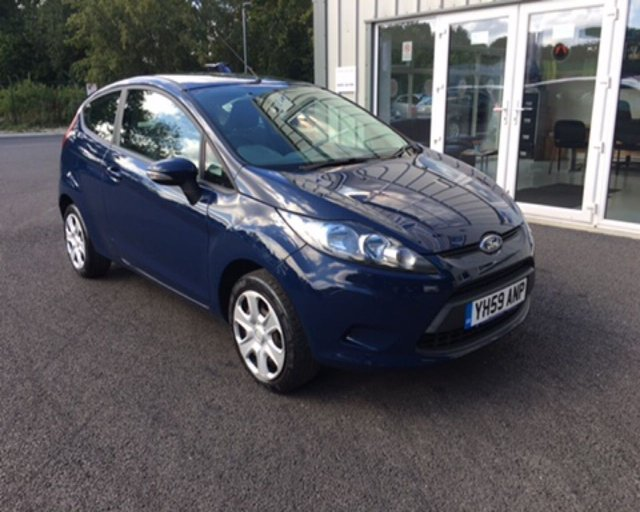 2009 59 FORD FIESTA 1.25 STYLE 3dr