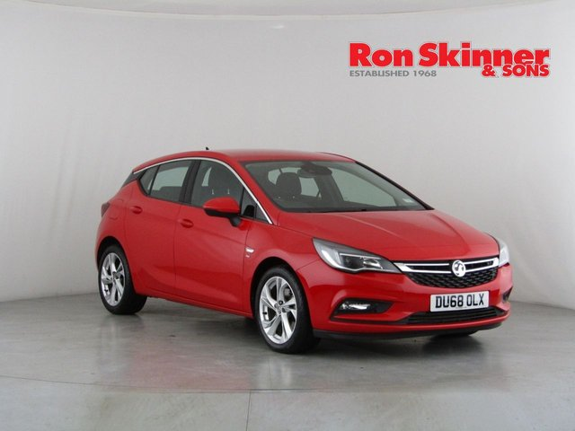 View our 2018 68 VAUXHALL ASTRA 1.6 SRI NAV S/S 5d 198 BHP