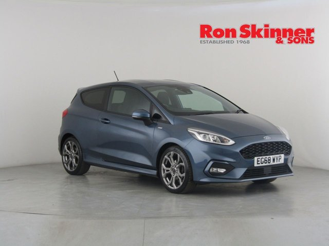View our 2019 68 FORD FIESTA 1.0 ST-LINE 3d 124 BHP