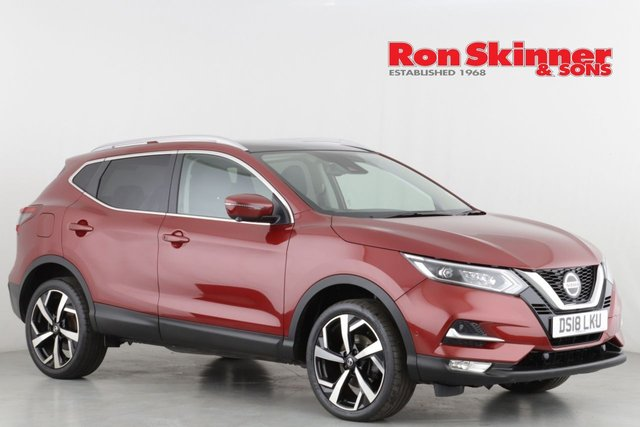 View our 2018 18 NISSAN QASHQAI 1.5 DCI TEKNA 5d 108 BHP