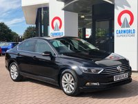 USED 2015 65 VOLKSWAGEN PASSAT 1.6 SE BUSINESS TDI BLUEMOTION TECHNOLOGY 4d 119 BHP 1 OWNER | SAT NAV | BLUETOOTH
