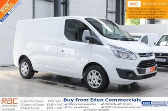 2016 FORD TRANSIT CUSTOM 2.0 290 LIMITED LR * HEATED SEATS + AIR CON * £12150.00