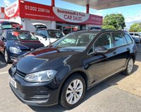 2014 VOLKSWAGEN GOLF 1.6 SE TDI BLUEMOTION ESTATE TECHNOLOGY £20 TAX GROUP £5795.00