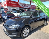 USED 2014 14 VOLKSWAGEN GOLF 1.6 SE TDI BLUEMOTION ESTATE TECHNOLOGY £20 TAX GROUP