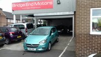 USED 2016 16 VAUXHALL CORSA 1.4 SE ECOFLEX 5d 89 BHP ONLY 8317 MILES FROM NEW, LOW CO2, £30 ROAD TAX, FANTASTIC VALUE FOR MONEY!! EXCELLENT SPEC INCLUDING ALLOY WHEELS, AIR CONDITIONING, CRUISE CONTROL, HEATED SEATS ANS STEERING WHEEL, MEDIA INPUT AND PARKING SENSORS.