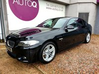 2014 BMW 5 SERIES 2.0 520D M SPORT 4d AUTO 181 BHP £14750.00