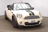 USED 2013 63 MINI CONVERTIBLE 1.6 COOPER D 2DR CHILI PACK HEATED LEATHER SEATS 112 BHP FINISHED IN A STUNNING PEPPER WHITE + MINI SERVICE HISTORY + 30 12 MONTHS ROAD TAX + HEATED LEATHER SEATS + PARKING SENSOR + BLUETOOTH + CRUISE CONTROL + CLIMATE CONTROL + MULTI FUNCTION WHEEL + DAB RADIO + ELECTRIC WINDOWS + ELECTRIC MIRRORS + 17 INCH ALLOY WHEELS