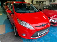 USED 2010 59 FORD FIESTA 1.6 TITANIUM 3d 118 BHP BD59OBU 2010 FORD FIESTA 1.6 TITANIUM 3 DOOR 120 BHP PETROL HATCHBACK ONLY 36K MILES. ONE OWNER FROM NEW EXCELLENT CONDITION. FINANCE & WARRANTY AVAILABLE. FSH LONG MOT RED ALLOYS