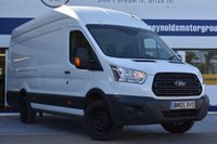 USED 2015 65 FORD TRANSIT 2.2 350 H/R P/V 1d 124 BHP NO DEPOSIT FINANCE AVAILABLE