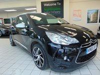 USED 2015 65 DS DS 3 1.6 BLUEHDI DSTYLE NAV S/S 3d 98 BHP SERVICE HISTORY + FULL MOT + SATELLITE NAVIGATION + BLUETOOTH + £0 ROAD TAX + CRUISE CONTROL + CLIMATE CONTROL + PRIVACY GLASS + DAB RADIO + ELECTRIC WINDOWS + CENTRAL LOCKING +  COMBINED FUEL FIGURES OF 78 MPG