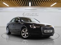 """USED 2017 17 AUDI A4 2.0 TDI ULTRA SPORT 4d AUTO 148 BHP **NO ULEZ CHARGE ON THIS VEHICLE** SAT NAV  