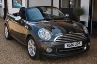 USED 2014 14 MINI ROADSTER 1.6 COOPER 2d 120 BHP A very British 2 Seater with One Previous Owner and a Service History