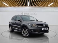 "USED 2012 61 VOLKSWAGEN TIGUAN 2.0 SPORT TDI BLUEMOTION TECHNOLOGY 4MOTION DSG 5d AUTO 138 BHP 18"" ALLOYS 