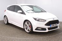 USED 2016 16 FORD FOCUS 2.0 ST-3 TDCI 5DR RECARO HEATED LEATHER SEATS 183 BHP FULL SERVICE HISTORY + RECARO HEATED LEATHER SPORT SEATS + SATELLITE NAVIGATION + PARKING SENSOR + BLUETOOTH + CRUISE CONTROL + CLIMATE CONTROL + MULTI FUNCTION WHEEL + DAB RADIO + XENON HEADLIGHTS + PRIVACY GLASS + ELECTRIC WINDOWS + ELECTRIC MIRRORS + 19 INCH ALLOY WHEELS