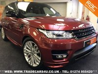 2014 LAND ROVER RANGE ROVER SPORT  4.4 SDV8 AUTOBIOGRAPHY DYNAMIC 4X4**HUGE SPEC £33795.00