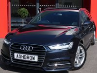 USED 2016 16 AUDI A6 AVANT 2.0 TDI QUATTRO S LINE 5d AUTO 190 S/S UPGRADE HEATED FRONT SEATS, UPGRADE ELECTRIC FOLDING HEATED DOOR MIRRORS, UPGRADE PRIVACY GLASS, SAT NAV, FULL BLACK LEATHER, DAB RADIO, BLUETOOTH PHONE & MUSIC STREAMING, AUDI MUSIC INTERFACE (AMI), FRONT & REAR PARKING SENSORS WITH DISPLAY, LED LIGHTS, QUATTRO 4 WHEEL DRIVE, ELECTRIC TAILGATE, CRUISE CONTROL, SPORT SEATS WITH ELECTRIC LUMBAR SUPPORT, LIGHT & RAIN SENSORS WITH AUTO DIMMING REAR VIEW MIRROR, AUTO HOLD, LEATHER MULTIFUNCTION TIPTRONIC STEERING WHEEL, 1 OWNER, SERVICE HISTORY