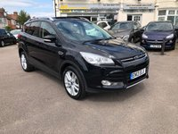 USED 2013 13 FORD KUGA 2.0 TITANIUM X TDCI 5d 160 BHP PAN ROOF/FULL LEATHER