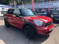 USED 2014 14 MINI COUNTRYMAN 2.0 COOPER SD 5d 141 BHP 0%  FINANCE AVAILABLE ON THIS CAR PLEASE CALL 01204 393 181