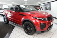 USED 2017 17 LAND ROVER RANGE ROVER EVOQUE 2.0 TD4 HSE DYNAMIC AUTO 180 BHP FLRSH 1 OWNER 20'S BLACK PACK!