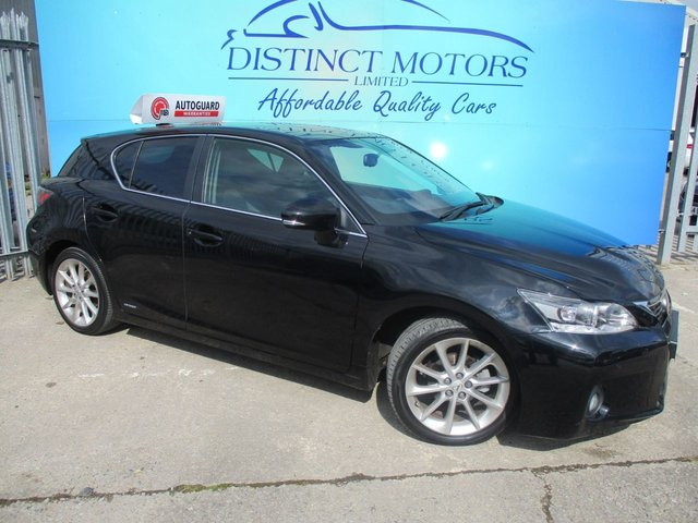 USED 2013 63 LEXUS CT 1.8 200H LUXURY 5d AUTO 136 BHP