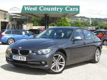 2017 BMW 3 SERIES 2.0 320D SPORT 4d AUTO 188 BHP £15500.00