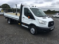 2015 FORD TRANSIT 350 L4 100PS XTRA LWB  TWIN WHEEL TRUCK WITH 14FT INGIMEX BODY £10695.00