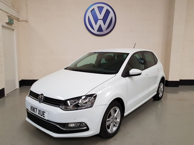 USED 2017 17 VOLKSWAGEN POLO 1.2 MATCH EDITION TSI 5d 89 BHP 1 Owner/Vw History/Privacy Glass/Park Sensors/Bluetooth
