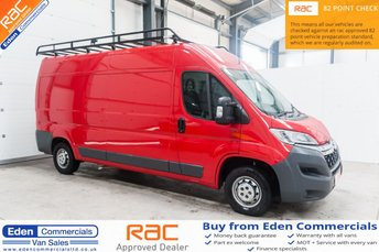 2016 CITROEN RELAY 2.2 35 L3H2 ENTERPRISE * FINISHED IN TIZIANO RED * £8491.00