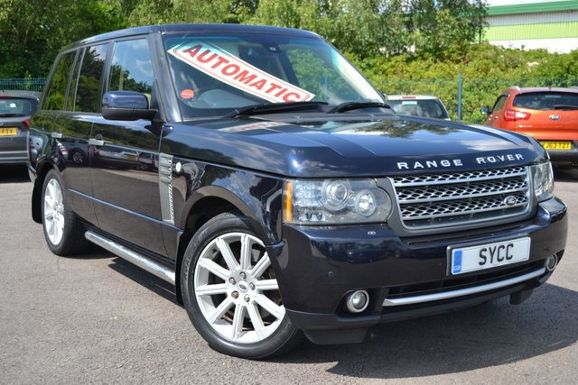 USED 2009 59 LAND ROVER RANGE ROVER 3.6 TDV8 AUTOBIOGRAPHY 5d AUTO 271 BHP 2 KEYS ~ 12 MONTHS MOT ~ 6 MONTHS WARRANTY ~ 6 MONTHS BREAKDOWN COVER
