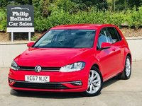 USED 2018 67 VOLKSWAGEN GOLF 1.6 GT TDI BLUEMOTION TECHNOLOGY 5d 114 BHP Front / Rear parking sensors, Heated seats