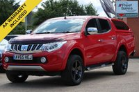 USED 2016 65 MITSUBISHI L200 2.4 DI-D 4X4 WARRIOR DCB 1d 178 BHP NO VAT TO PAY - VAT INCLUDED IN THE PRICE
